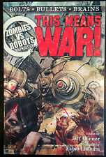 Zombies vs Robots This Means War! TPB IDW Books 9781613771433