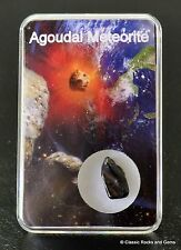 Meteorit Agoudal Imilchil Eisenmeteorit IIAB Geschenk Box + Echtheitszertifikat
