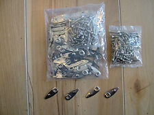 Professional Picture Framing Metal Turn Buttons with Screws - Pack of 100