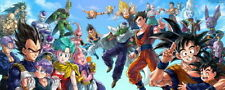 "Dragon Ball z - 2015 Japan Anime Vintage Decor 36X24"" Fabric Poster 214"