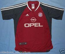 Bayern München / 2001-2002 Home - ADIDAS - JUNIOR Shirt / Jersey.  Size: 164, 14