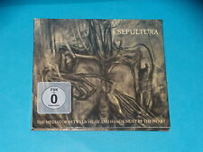 CD -  SEPULTURA - THE MEDIATOR BETWEEN HEAD AND HANDS MUST BE THE HEART - + DVD