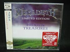 MEGADETH Hidden Treasures JAPAN SHM CD Metallica Hawaii Vixen