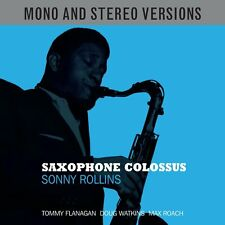 Sonny Rollins SAXOPHONE COLOSSUS Mono & Stereo Versions NEW SEALED 2 CD