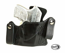 Ruger LCP RED Crimson Trace IWB Dual Snap Holster Right Hand Black 0155
