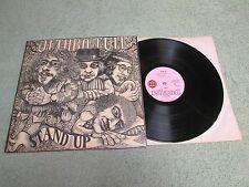 JETHRO TULL stand up ISLAND RECORDS LP orange bulls eye 1st Press ILPS 9103!