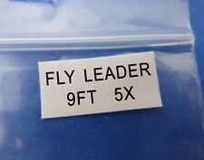 Tapered Fly Leader 9' 5x * Fly Fishing Leaders