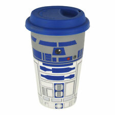 STAR WARS R2-D2 TRAVEL MUG CERAMIC BRAND NEW IN BOX GREAT GIFT DISNEY