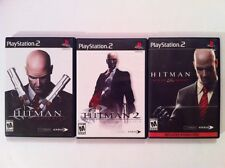Hitman 2, Blood Money, and Contracts - PS2 PlayStation 2 - COMPLETE