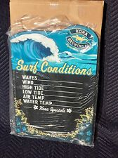 "Kona Brewing Co. Hawaii Aloha Surf Conditions ChalkBoard Beer Bar  ""New"" Mirror"