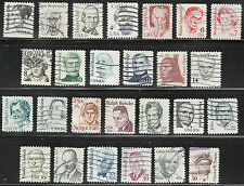 #1844-69 GREAT AMERICANS SERIES-  BIG SALE - FREE SHIPPING ON 2 OR MORE LOTS