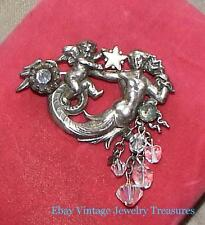 Kirks Folly Fairy Cherub Silver Tone Pin Rare Early Only 1 on Ebay