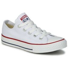 Converse All Star ox Canvas Womens Trainers Shoes White Size 7 UK / 40 EU
