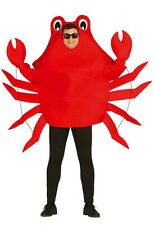 ADULT MENS LADIES CRAB CRUSTACEAN SEALIFE SEAFOOD FANCY DRESS COSTUME OUTFIT NEW