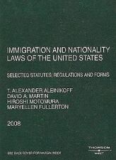 Immigration and Nationality Laws of the United States: Selected Statut-ExLibrary