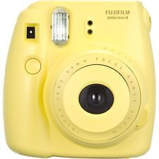 Fuji Instax Mini 8 Instant Film Camera (Yellow) Fujifilm