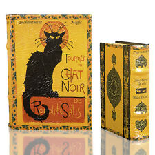 LE CHAT NOIR by Steinlen Black Cat Secret Book Box Set Decorative Book Boxes