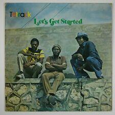 """Tetrack """"Let's Get Started"""" Reggae LP Message"""