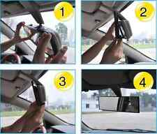 Car Oversized Large Wide ANGLE  Rearview Rear  Mirror Clip On Parking UNIVERSAL