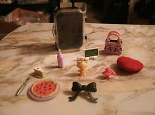 lot of 11 pieces of misc vintage Barbie accessories