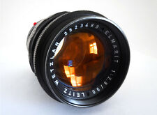 LEICA ELMARIT 90mm f2.8 LENS IN RARE BLACK - M MOUNT - 1972 - MINTY!