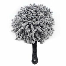 Gray Car Dirt Cleaning Wash Brush Dusting Tool Duster Multifunction Mop Clean