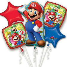 Nintendo Super Mario Party Favor Birthday Bouquet Balloons