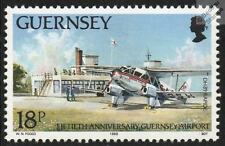 BEA British European Airways DE HAVILLAND DH.89 DRAGON RAPIDE Aircraft Stamp
