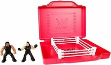 WWE Mighty Minis - Portable Ring Playset Inc 2 Figures  *BRAND NEW*