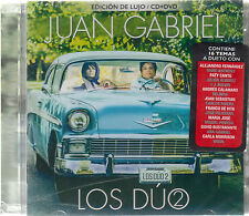 CD - Juan Gabriel NEW Los Duo Vol 2 ***Edicion De Lujo CD/DVD - FAST SHIPPING !