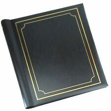 Self Adhesive Photo Albums Spiral Bound 40 Sheets 80 Sides Black - SM80BK