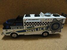 MATCHBOX POLICE E-ONE MOBILE COMMAND VEHICLE