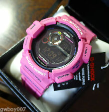 Casio G-Shock GW-9300SR-4JF Men In Sunrise Purple Mudman Solar Men`s Watch