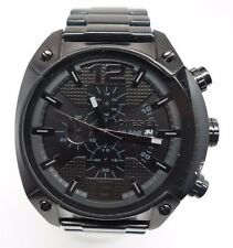 Men's Diesel Blackout Chronograph Watch DZ4223 Box Included