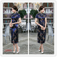 Chinese Style Dragon Phoenix Women's Prom Dress Cheongsam Qipao 6-8-10-12-14-16