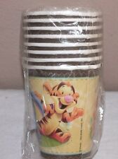 8 NEW WINNIE THE POOH BABY POOH AND FRIENDS PAPER CUPS  PARTY SUPPLIES