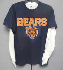 NFL Licensed 3 in 1 Tee Shirt Combo CHICAGO BEARS S Small NWT | eBay