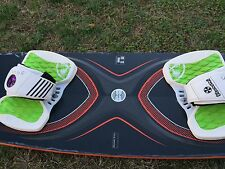 Kiteboard or kitesurfing board F-one Trax 2012 136x41 Carbon