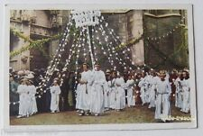 Image CHROMO COTE D'OR Collection FOLKLORE BELGE N°20 - HUY - Procession Fêtes