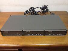 VideoTek - Rack of 3, ADA-16 Audio Distribution Amplifiers