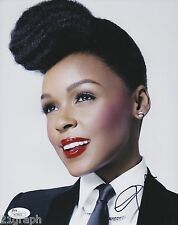 Janelle Monae In-Person Signed 8x10 w/ JSA COA #M78422
