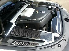 123026 2006-2015 Cadillac CTS-V Carbon Fiber Fender Covers 4Pc - Polished