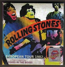 ROLLING STONES  -- European Tour  82  Foxes In The Boxes -- 18 CD s Box