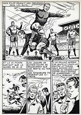 FINALE DE COUPE FOOTBALL (ROBERT HUGUES) PLANCHE ORIGINALE PILAR SANTOS PAGE 30