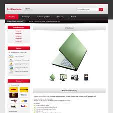 eBay Auktionsvorlage | Vorlage | Design Shop Vorlage | HTML Template | Rot