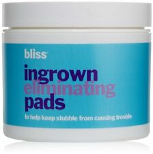 Bliss Ingrown Hair Eliminating Pads with green tea  (50 pads ) NWOB Sealed*