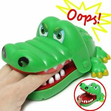 Big Crocodile Mouth Dentist Bite Finger Game Toy Family Game For Kids Xmas Gift/