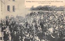 CPA 58 NEVERS CORTEGE HISTORIQUE DE JEANNE D´ARC 1909 LES SEIGNEURS ET LES PAGES