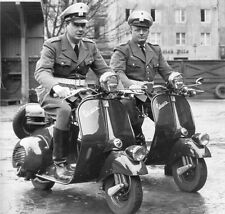 Vespa scooter - first production prototype 1945 debut Italy - motorcycle photo