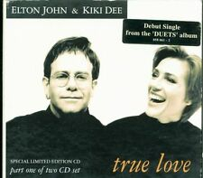 Elton John & Kiki Dee - True Love (The Show Must Go On Queen) 3 Tracks Digipack